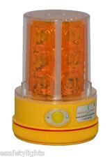 P36LM2 AMBER Yellow Beacon Truck Boat Portable 36 LED's Warning Safety Light