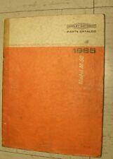 HARLEY DAVIDSON MODEL-50 PARTS CATALOG 1965 GENUINE