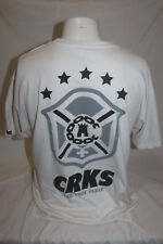 Crooks and Castles Nao Pode Parar Men's White T Shirt Size Large Made in USA