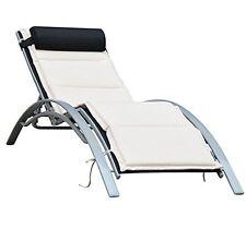 Outsunny-Sedia a sdraio Sdraio da giardino Poltrona relax reclinabile