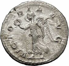 Philip I 'the Arab' Rome mint Silver Ancient  Roman Coin Victory Nike  i48773
