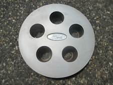 one 1989 to 1991 Ford Taurus hubcap center cap for polycast wheel