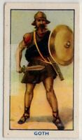 Ancient Norse Goth Scandinavian Germanic Warrior Weapons 1930s Trade Ad Card