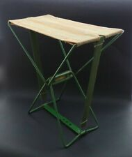 Ingenious Vintage 'Cossentine' Folding Camping / Fishing Stool. 1940s/50s. VGC