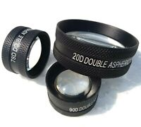 Double Aspheric Lens 20D 90D & 78D Free Shipping Worldwide Set Of Lens 3 Medico