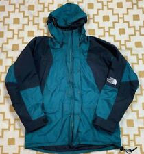 VTG 90's The North Face Gore-Tex Mountain Jacket Men's SZ L Green & Black USA