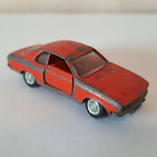 Schuco Opel Manta SR Couple 1:66 No. 301839 Car Red / Dunke Red Made in Germany