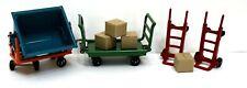 MTH Lionel #163 Standard Gauge Tinplate Train Station Cart Set VNM Un-boxed