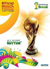 * 2014 FIFA WORLD CUP FINALS (BRAZIL) OFFICIAL TOURNAMENT PROGRAMME *