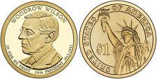 2013-P  WOODROW WILSON  PRESIDENTIAL DOLLAR COIN