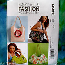 MCcall's 5823 Fashion Accessories 4 Bags New Pattern