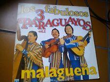 """LP 12"""" LOS FABULOSOS 3 PARAGUAYOS MALAGUENA  1982 ITALY LOTUS RECORDS EX/EX++"""