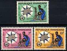 Rwanda 1964 SG#52-54 World Meterological Day MNH Set #D58742