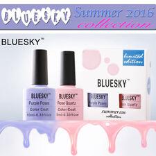 BLUESKY SUMMER KIT LIMITED EDITION UV/LED SOAK OFF GEL TOP BASE