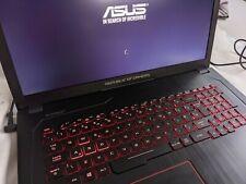 """ASUS ROG Strix GL753V 17.3"""" Gaming Laptop nVidia GeForce GTX 1050, 250ssd m.2"""