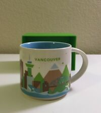 STARBUCKS Vancouver You Are Here Mug Brand new in box