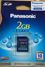 10pcs Panasonic SD 2GB 2g Card SD Memory Card class 2 10MB/s