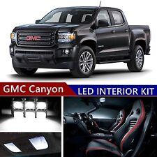 12pcs LED Xenon White Light Interior Package Kit for GMC Canyon 2015-2017
