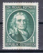 Österreich 1954 postfrisch MiNr. 1007 Johann Michael Rottmayr von Rosenbrunn