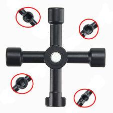Neu Schaltschrank Schlüssel Kreuzschlüssel Universalschlüssel Dreikant Vierkant