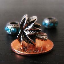 Silver Plated flower Fashion Charms & Charm Bracelets
