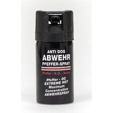 Pfefferspray Anti Dog 40ml Tierabwehrspray Pepperspray Abwehrspray Verteidigung