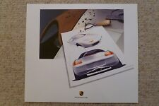 2002 Porsche Boxster Design Showroom Advertising Poster RARE Awesome L@@K