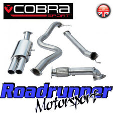 "Cobra Fiesta ST180 / ST200 Turbo Back Exhaust 3"" Non Res & De-Cat Twin FD66d"