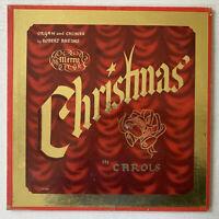 ROBERT RHEIMS Merry Christmas In Carols LP 1958 - Rheims LP 6006 - G+
