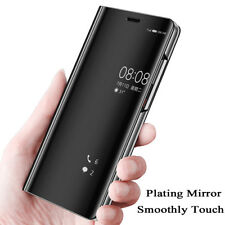 Mirror  Clear View Flip Wallet Cover Case for Samsung Galaxy Note 4 8 9 A9 Star