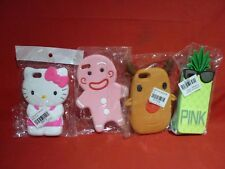 4 APPLE iPHONE i5 SILICONE PHONE SKIN CASES NEW HELLO KITTY PINK GINGERBREAD ++