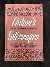 Chilton's Repair & Tune-up Guide Volkswagen 1949-1968 #5373 Hardcover