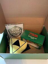 Legend Of Zelda Rupee Wallet Vinyl & Triforce Plush, Culturefly Exclusive