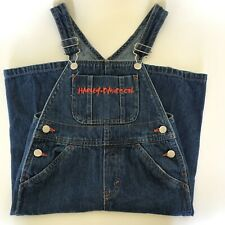Harley-Davidson Motor Cycle Children's Denim Bibs/Overalls Size 2T. Cute!