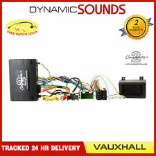 CTUVX02 Infoadapter Stalk Control Adaptor for Vauxhall Viva, Opel Karl
