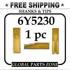 TOOTH for Caterpillar CAT 6Y5230 6Y-5230 Shanks & Tips Grader FREE SHIPPING!!!