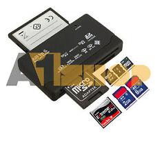 Tutto in 1 MULTI MEMORY CARD LETTORE USB SD SDHC MINI MICRO M2 MMC XD CF