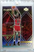 MICHAEL JORDAN 1999 UPPER DECK #DG3 BLACK DIAMOND GALLERY REFRACTOR LIKE INSERT