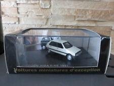 Norev miniature car citroen visa 11 re 1981 1/43 etat neuf