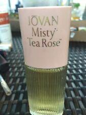 Jovan Misty Tea Rose Spray Cologne 1.5Oz/44.4ml in Box Vintage