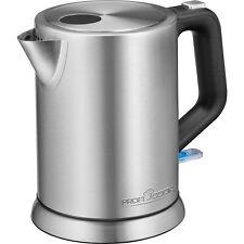 Proficook WKS 1106 - Tetera Hervidor agua eléctrico 1 litro acero inoxidable