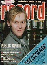 Public on Magazine Cover 1984                   Madonna