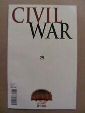 Civil War #1 Marvel Secret Wars 2015 Series 1:15 Variant 9.6 Near Mint+