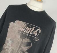 Bioworld Black Graphic Cotton Mens Sweatshirt Size XL