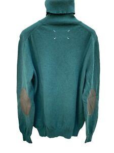 Maison Martin Margiela Green Rollneck Sweater Size M (fits S)