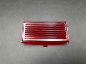 69 70 Cadillac Deville Fleetwood Interior Door Courtesy Light Lens RED NEW