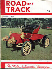 Road & Track Magazine February 1951 1903 Ford GD 122215jhe