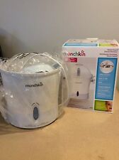 MUNCHKIN STEAM GUARD ELECTRIC STERILIZER FOR BABY BOTTLES AND TOYS