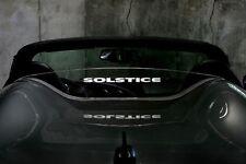 Saturn Sky Pontiac Solstice Windrestrictor Windblocker Windscreen Unique V2
