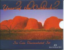 2002 Australia 'Year of the Outback' Mint Coin Set